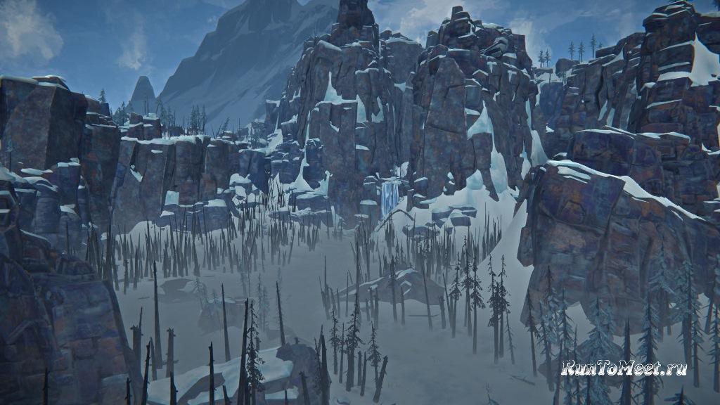 Локация Пепельный каньон в обновлении 1.89 на игру The long dark