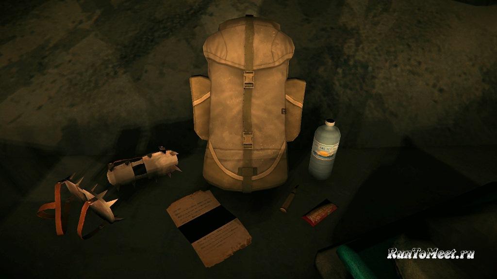 Улучшенный рюкзак добавленный в игру The long dark с обновлением 1.89