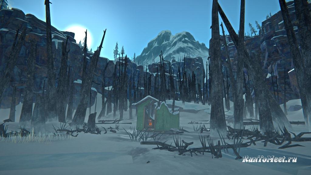 Заставка главной страницы в игре The long dark после обновления 1.89