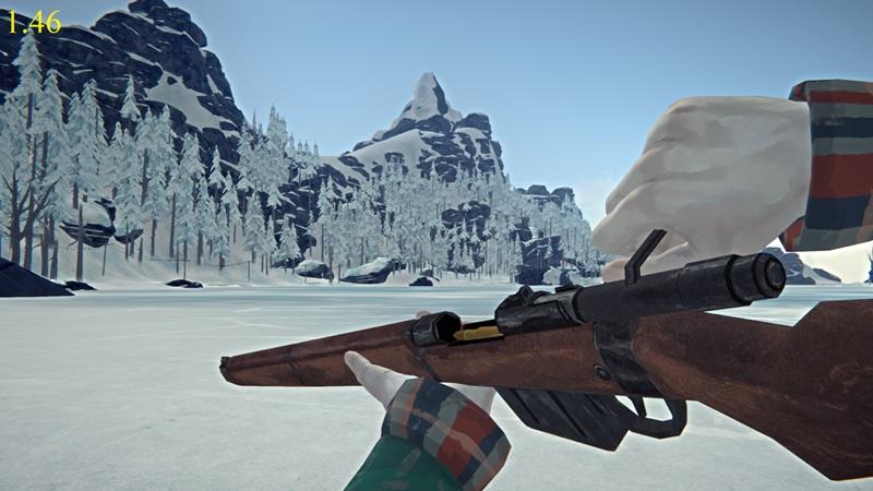 Перезарядка ружья в версии 1.46 игры The long dark
