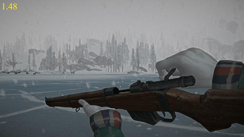 Перезарядка ружья в версии 1.48 игры The long dark