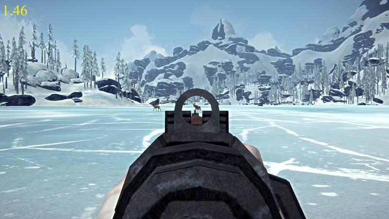 Прицеливание из ружья в версии 1.46 игры The long dark