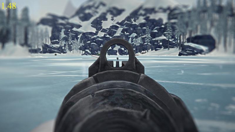 Прицеливание из ружья в версии 1.48 игры The long dark