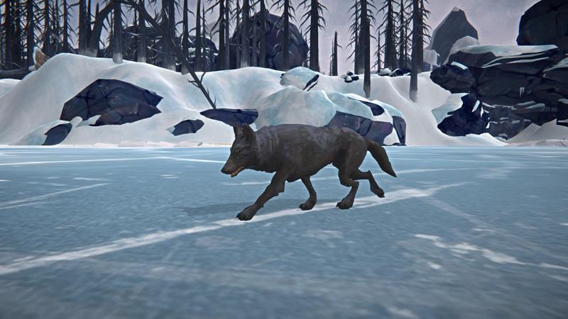 Волк в игре The long dark после обновления 1.48
