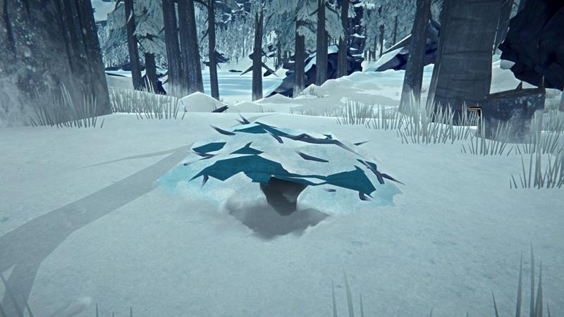 Снежное укрытие в игре The long dark