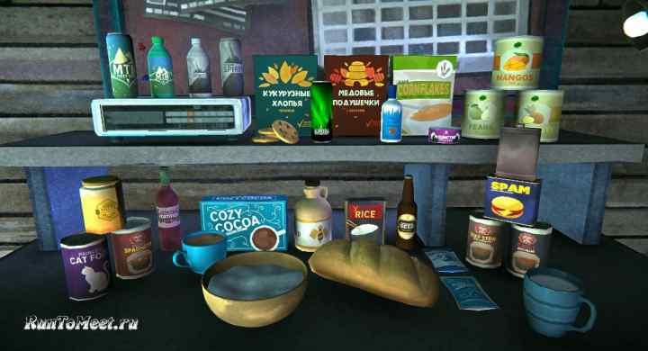 Мод Food-Pack на игру The long dark добавляет новые продукты