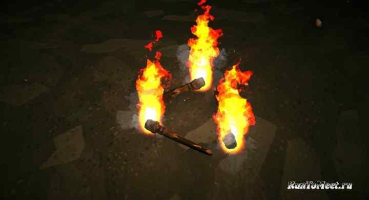 Описание мода Non OP Torches на игру The long dark