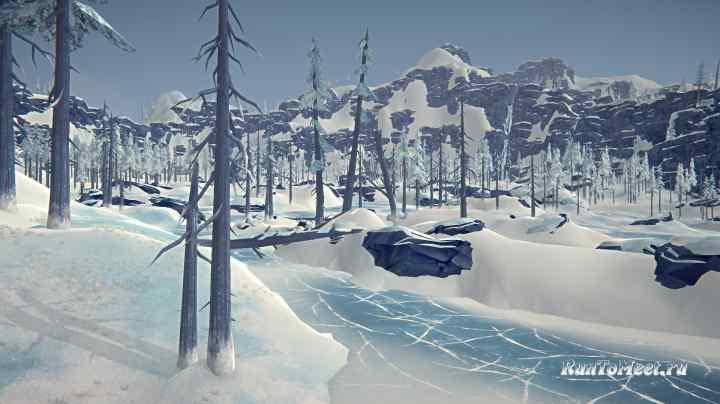 Замерзшее устье, на локации Бледная бухта, в игре The long dark