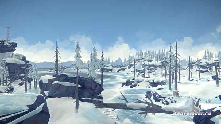 Охотничья засидка, на Замерзшем устье, Бледной бухты, в игре The long dark