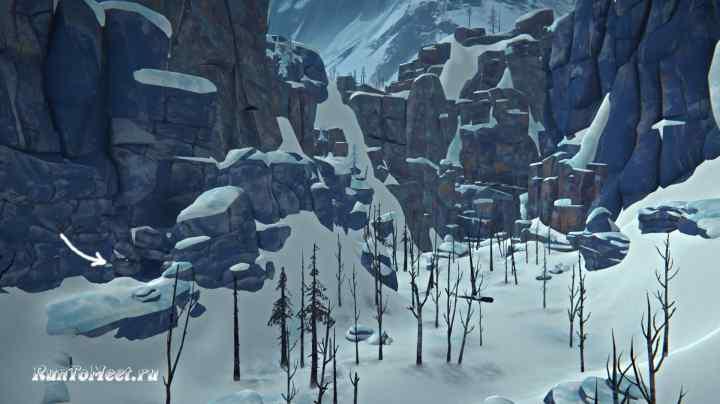 Пещера камнетеса в Пепельном каньоне игры The long dark