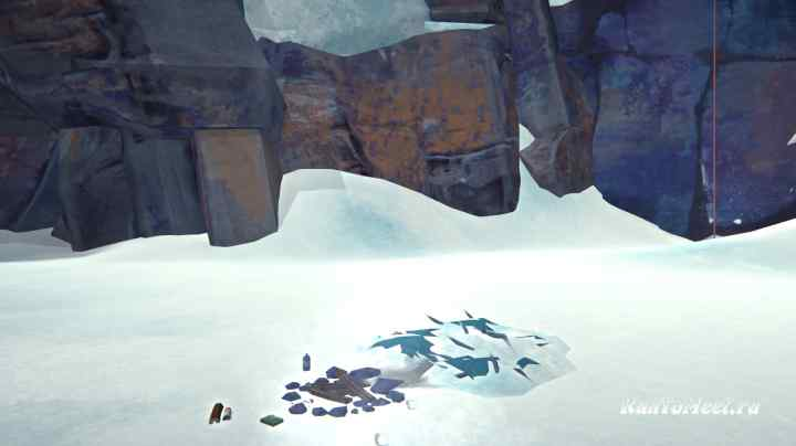 Укрытие на тройном подъеме в Пепельном каньоне игры The long dark