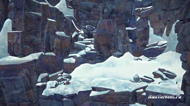Выход из шахты через пещеру в Пепельном каньоне игры The long dark