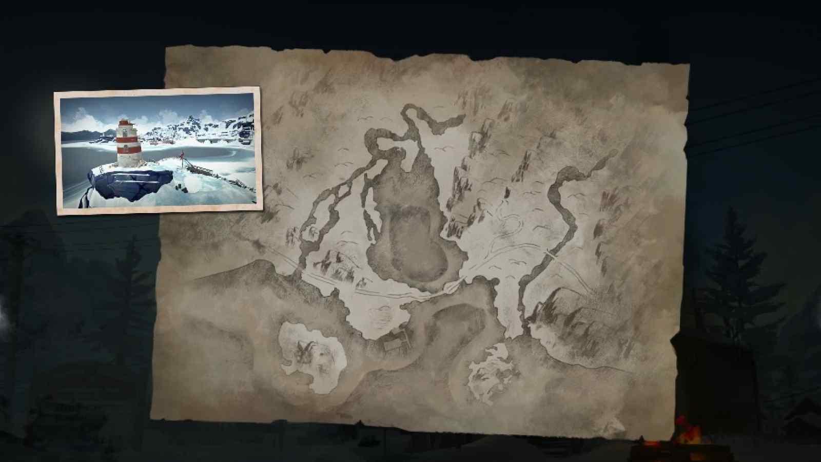 Заставка локации Бледная бухта в игре The long dark