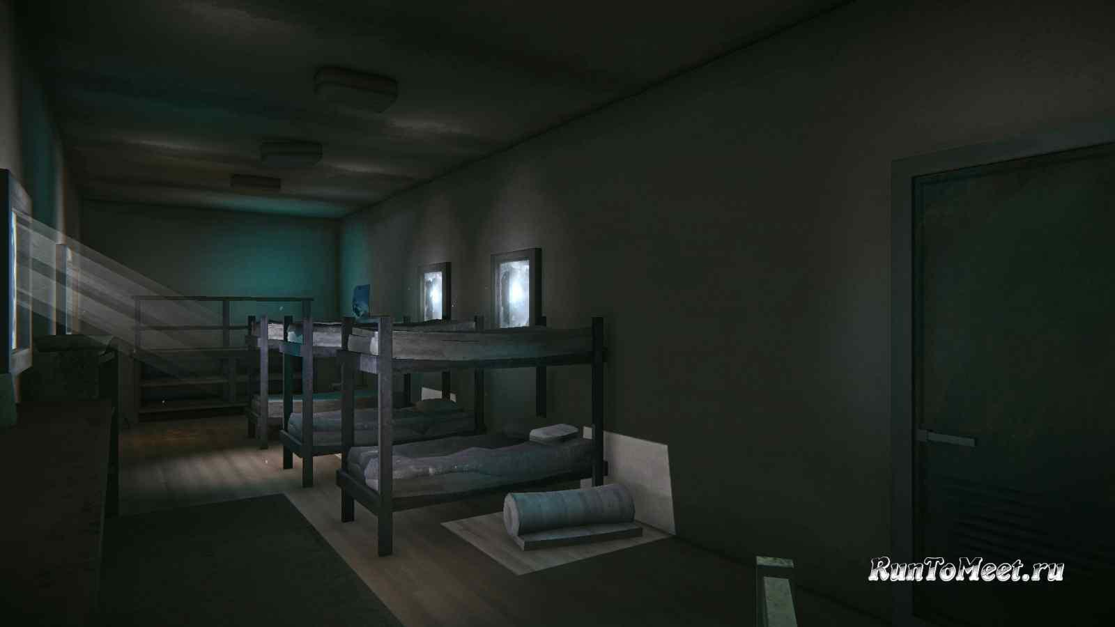 Интерьер первого вагончика, возле завода, на Бледной бухте, в игре The long dark
