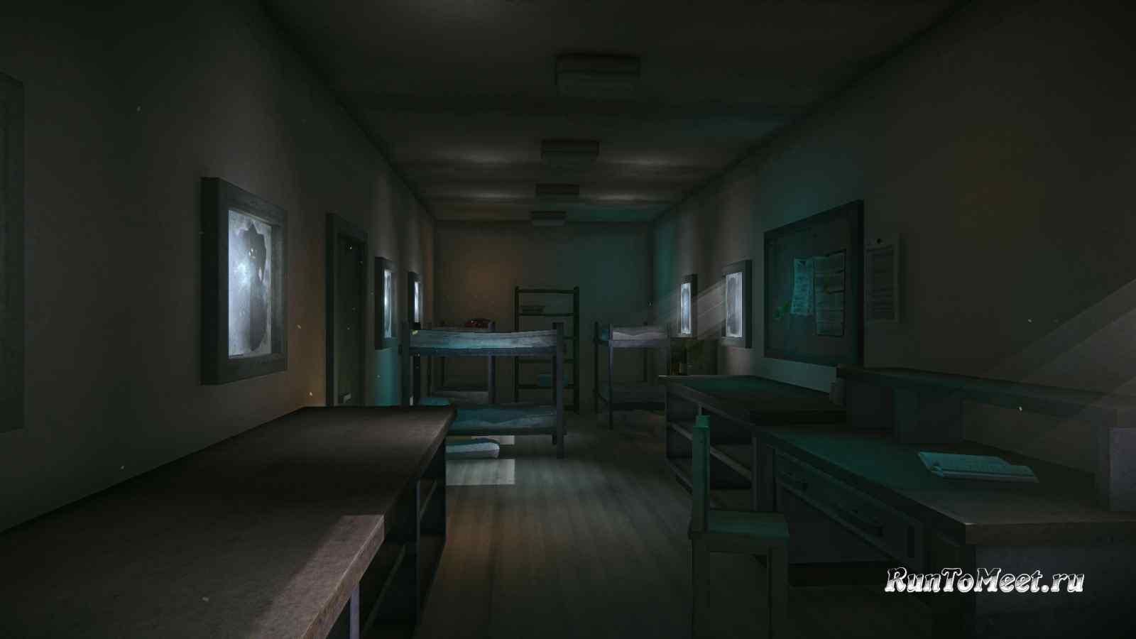 Интерьер второго вагончика, около Консервного завода, на Бледной бухте, в игре The long dark