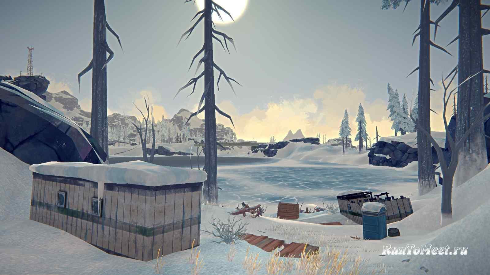 Уцелевший вагончик, на локации Бледная бухта, в игре The long dark