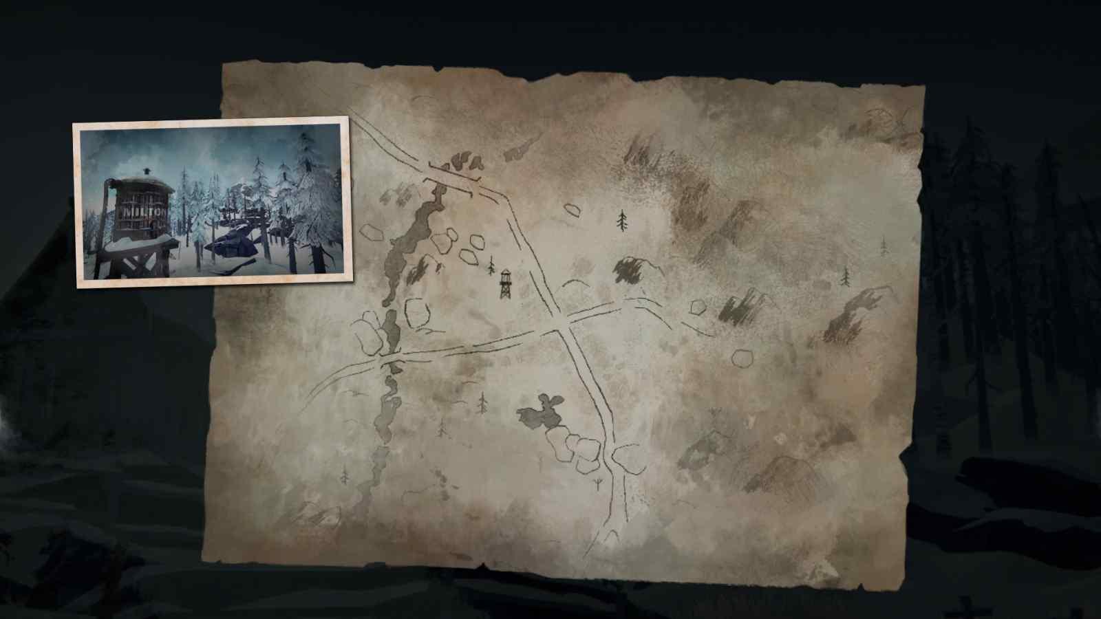 Заставка локации Милтон в игре The long dark