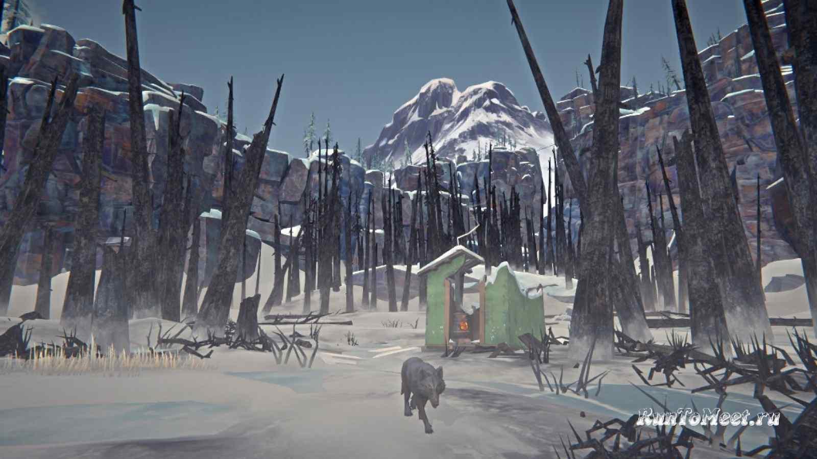 Заставка локации Пепельный каньон в игре The long dark