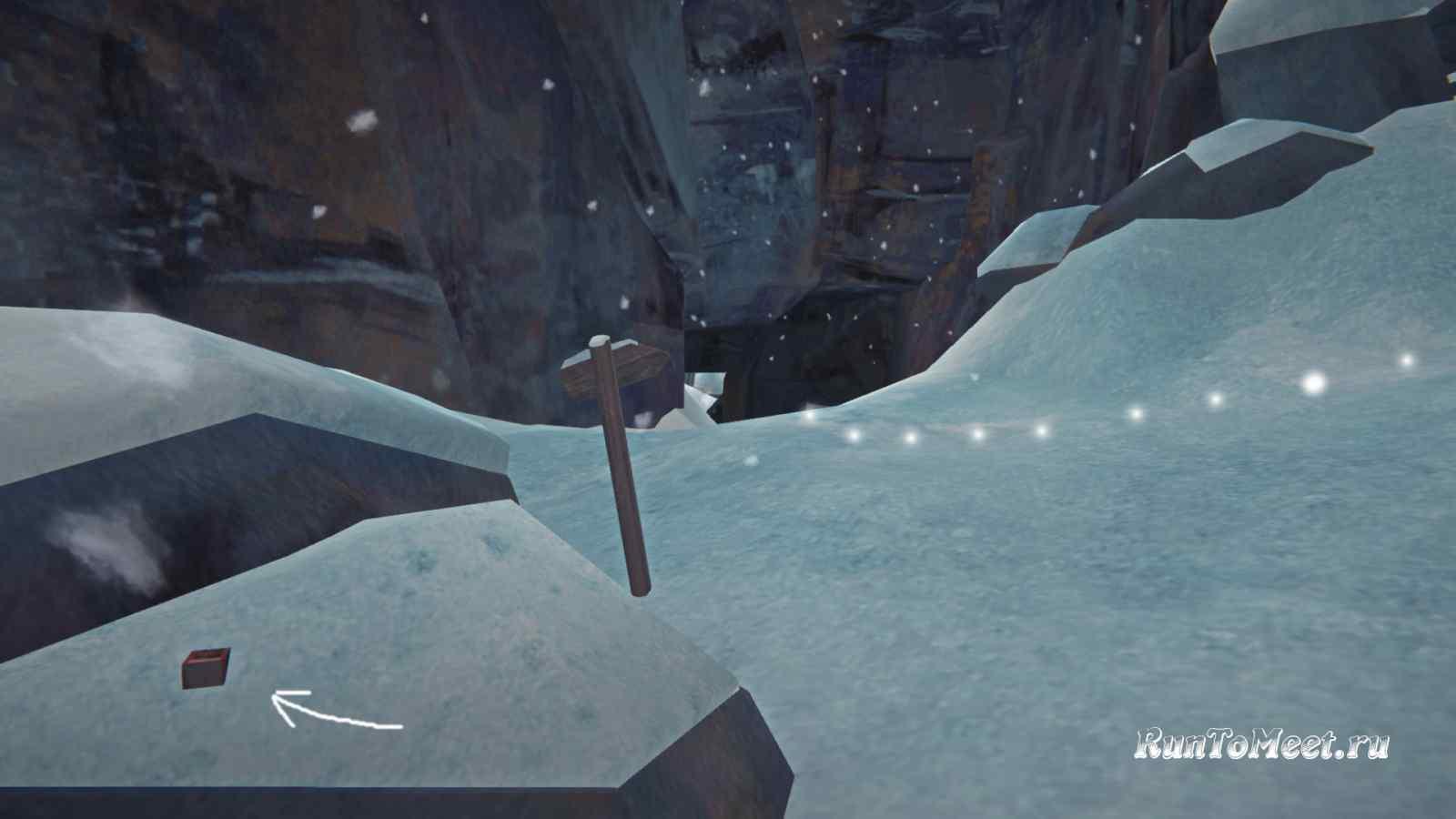 Нычка по пути к виду на Волчью пасть в Пепельном каньоне игры The long dark