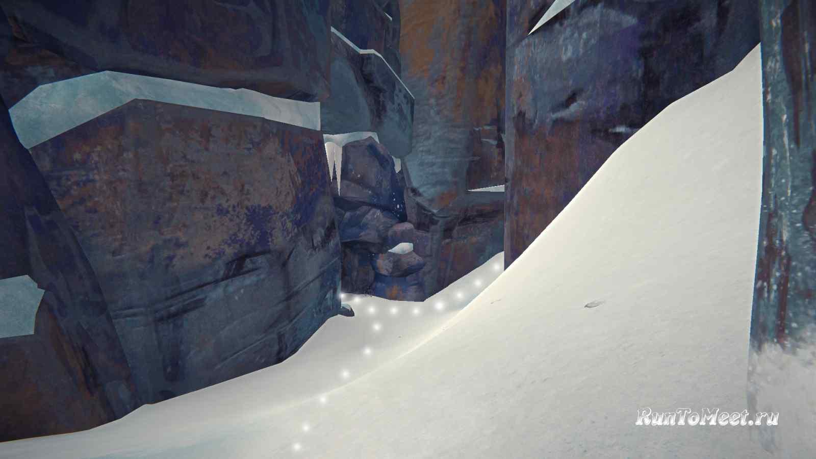 Пещера возле вида на Волчью пасть в Пепельном каньоне игры The long dark