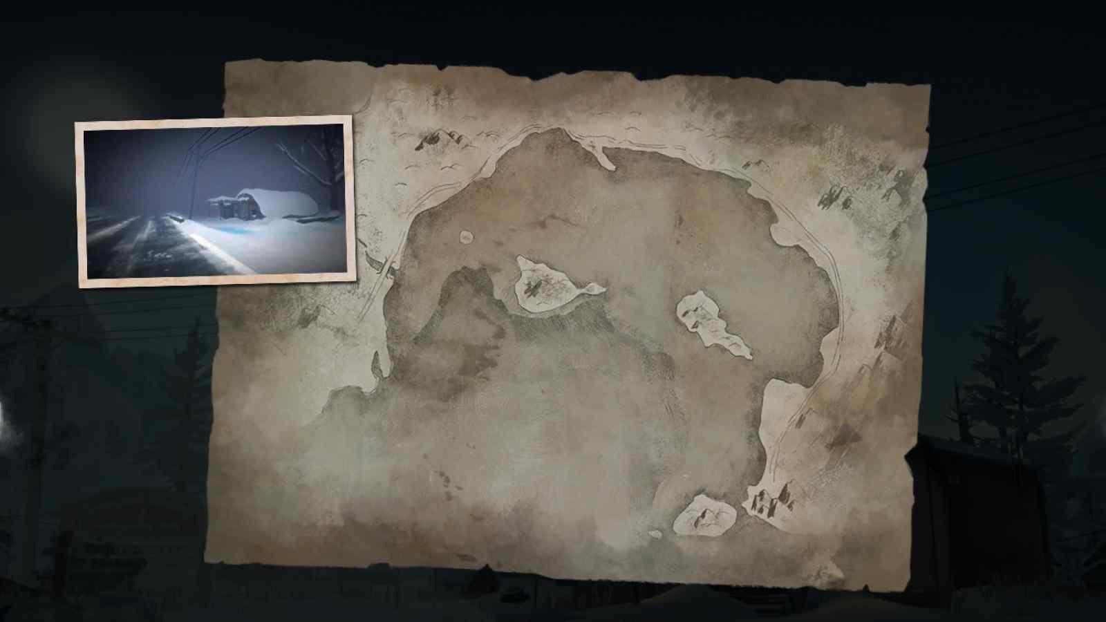 Заставка локации Прибрежное шоссе в игре The long dark