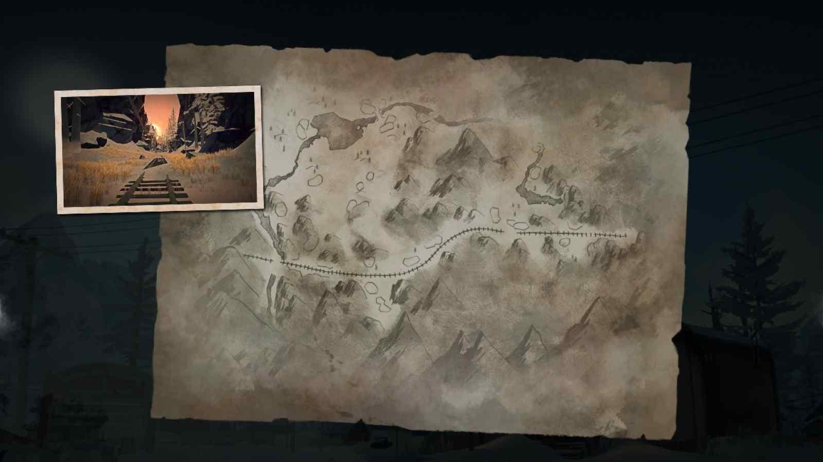 Заставка локации Разбитая железная дорога в игре The long dark