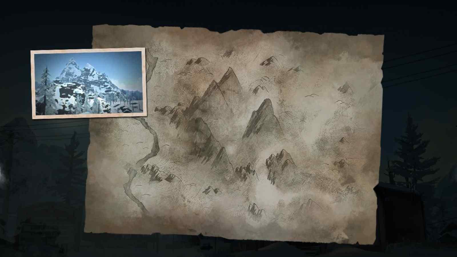 Заставка локации Волчья гора в игре The long dark