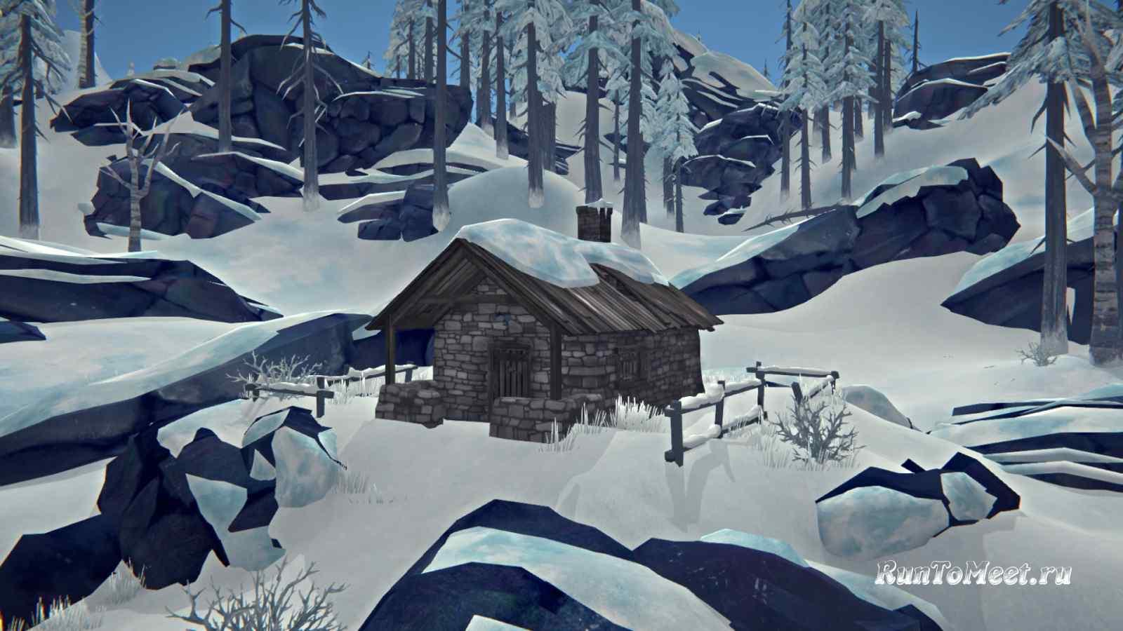 Хижина альпиниста на Волчьей горе, в игре The long dark