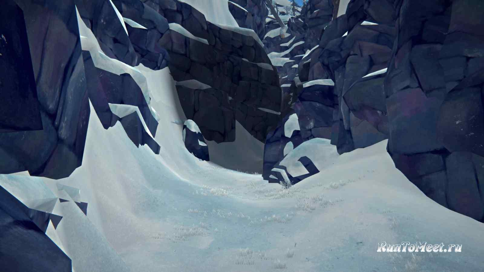 Ущелье Эхо на Волчьей горе, в игре The long dark