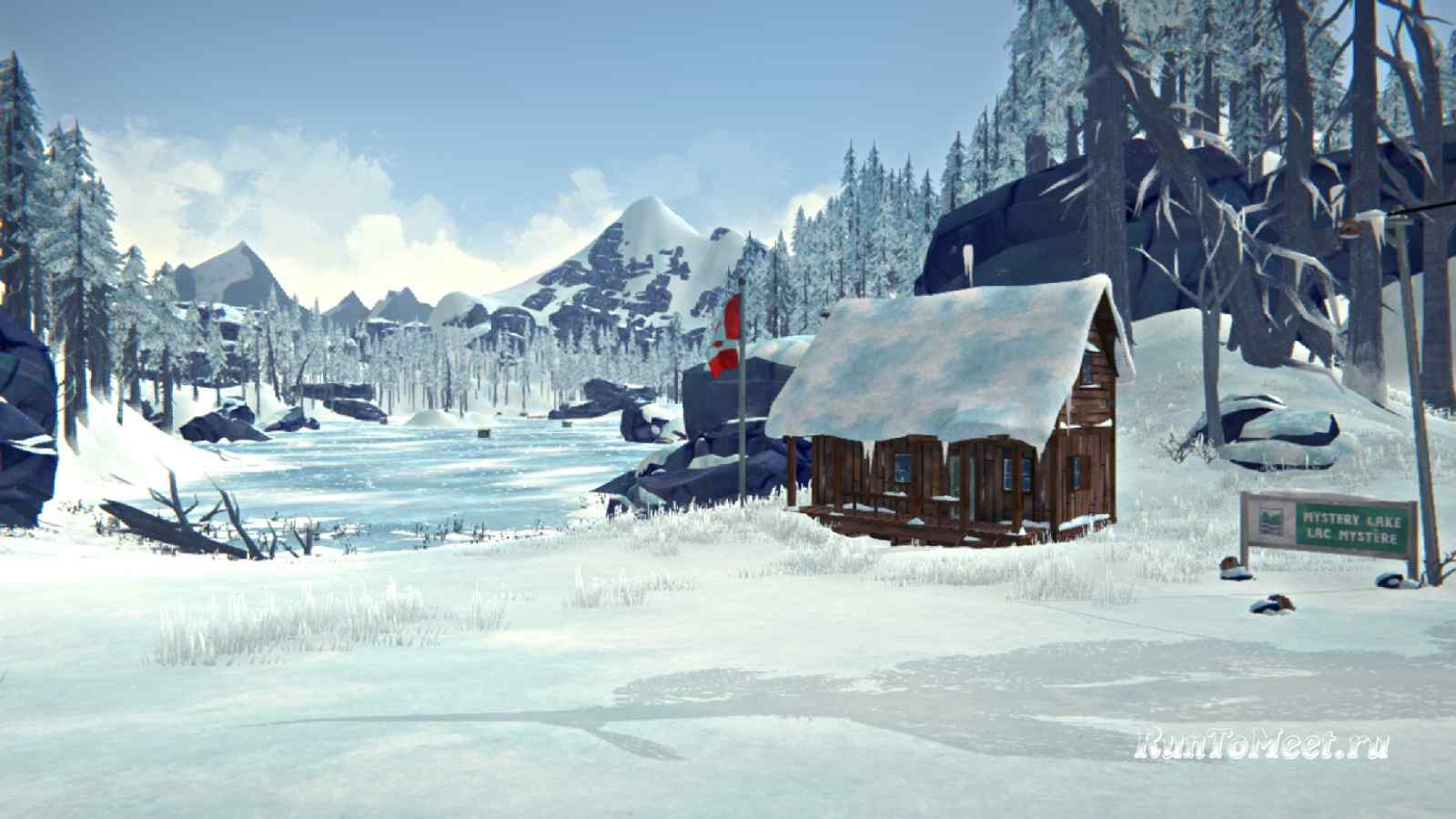 Администрация турбазы на локации Загадочное озеро, в игре The long dark