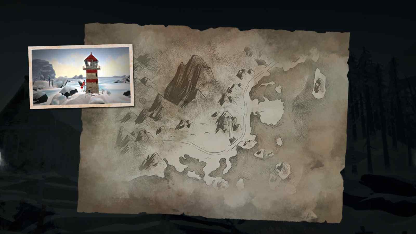 Заставка локации Зона Запустения в игре The long dark