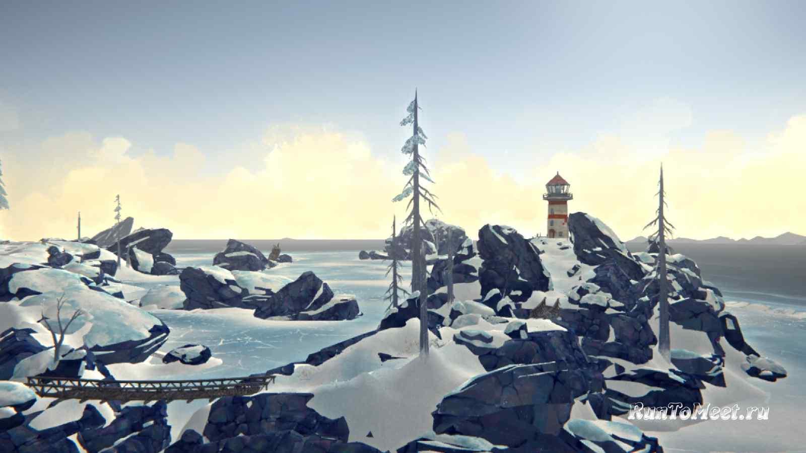 Путь к маяку, на локации Зона Запустения, в игре The long dark
