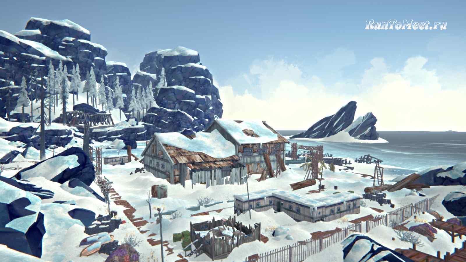 Китобойная станция, на локации Зона Запустения, в игре The long dark